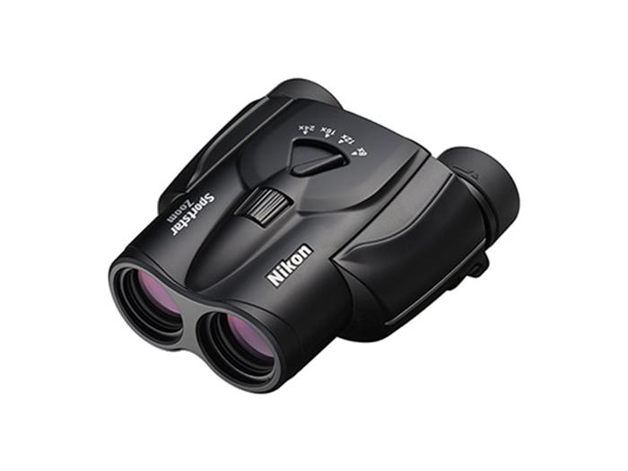 SportStar Zoom 8-24x25 雙筒望遠鏡 - 黑